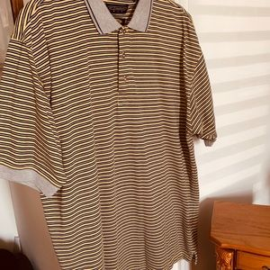 Reebok Golf Play Dry Polo Size Large Excellent